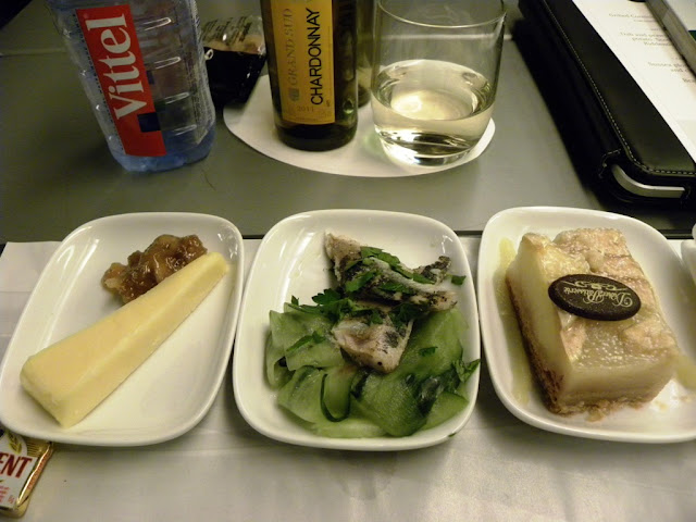 Eurostar Train Food Premier Class