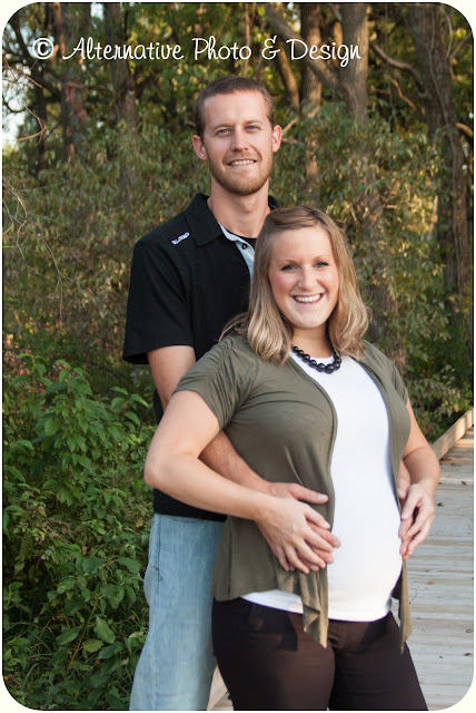 J & N Maternity Session | Janesville, WI