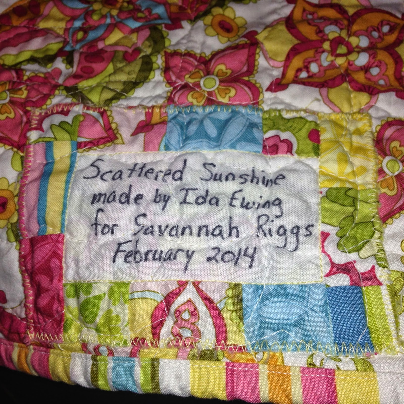 Ida Rather Be Quilting: May 2015