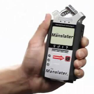 Kadınları anlama cihazı aygıtı Manslater
