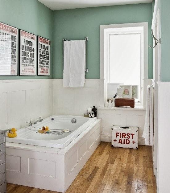 Decoracion Baño Retro:Baños con decoración vintage * AURORA VEGA