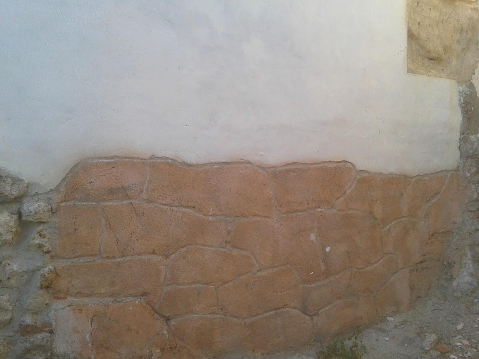 Reparaciones muy economicas para tu hogar - Imitacion piedra pared ...