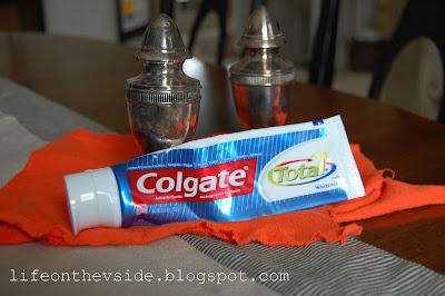 How to Polish Silver (Toothpaste Method)