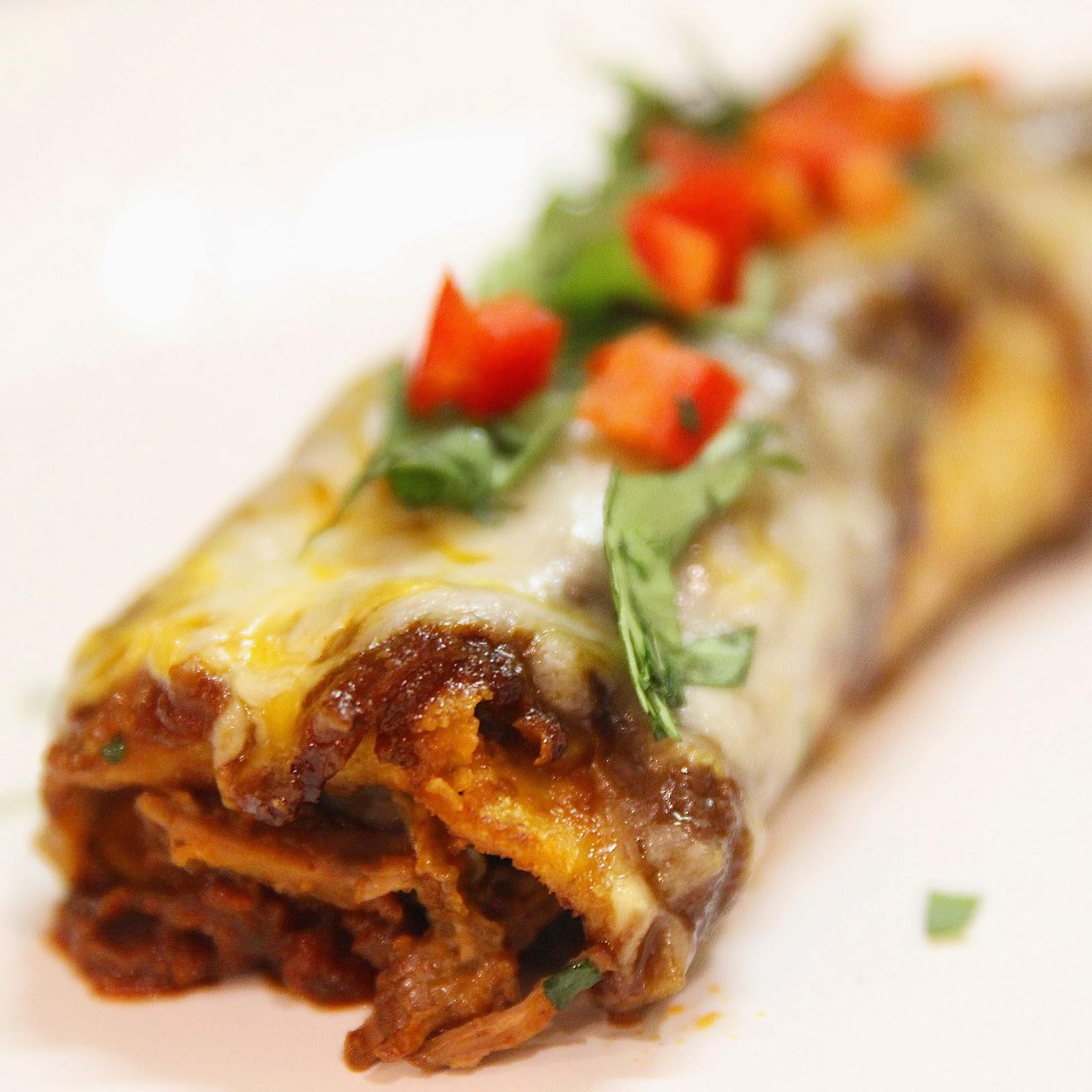 Little Magnolia Kitchen Authentic Beef Enchiladas