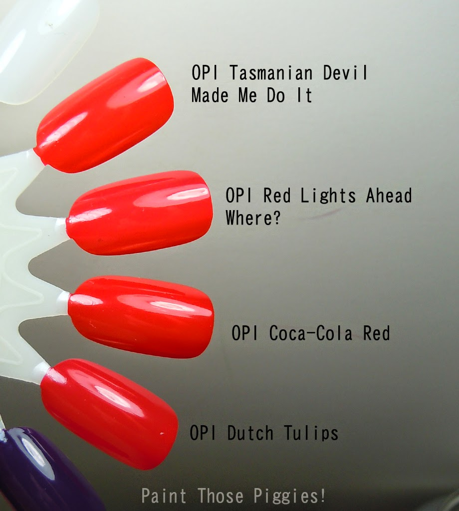 Paint Those Piggies!: OPI Coca Cola Collection (full review and ...