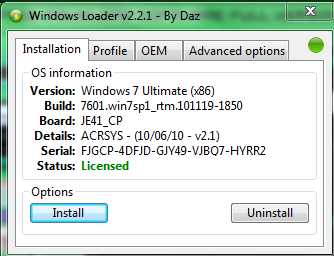 Free Download Windows Loader v2.2.1 Full Final Version