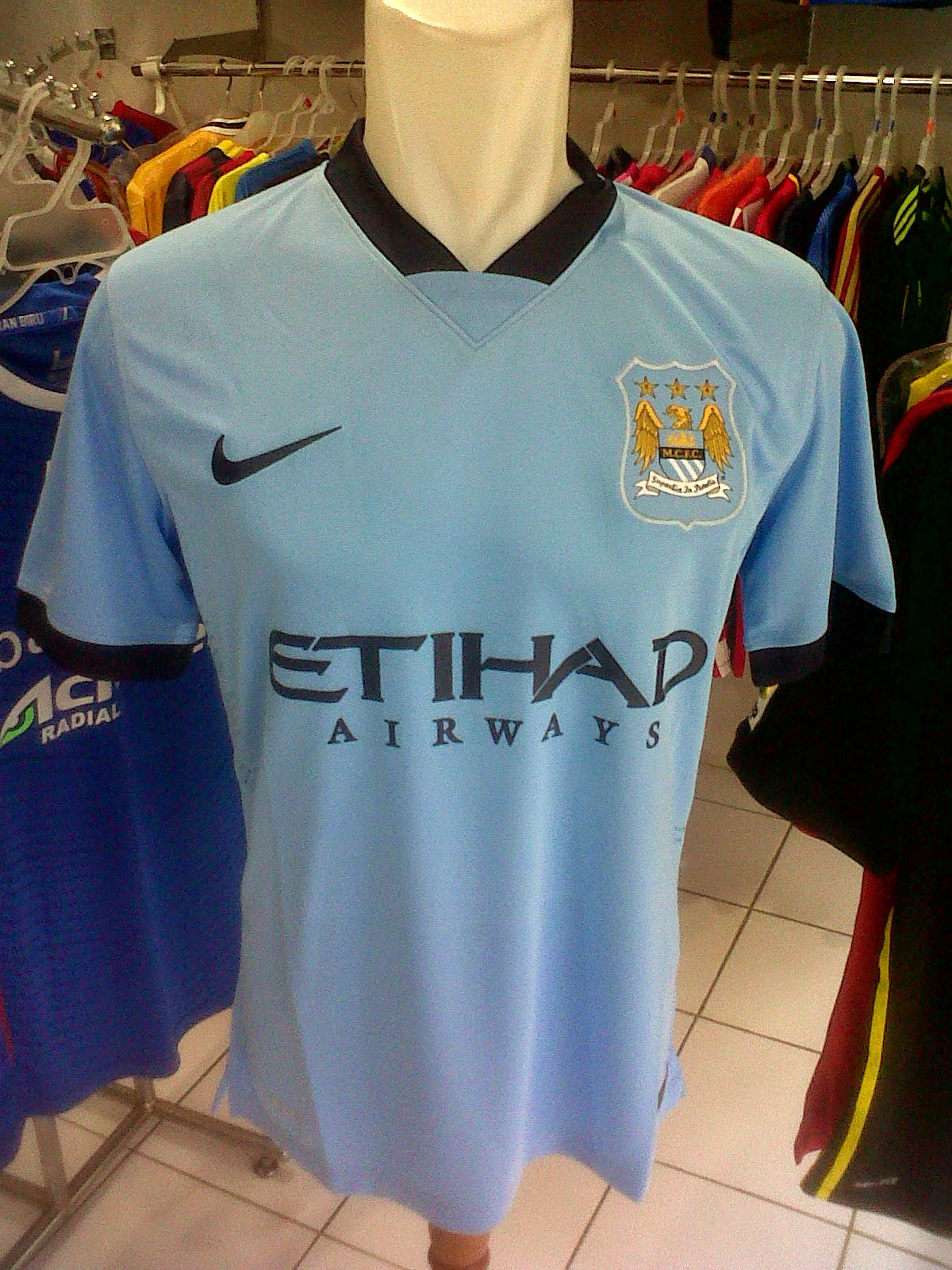 Jersey Manchester City Home 2014/2015