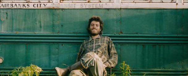 El hombre que vivió 30 años de soledad en Alaska.