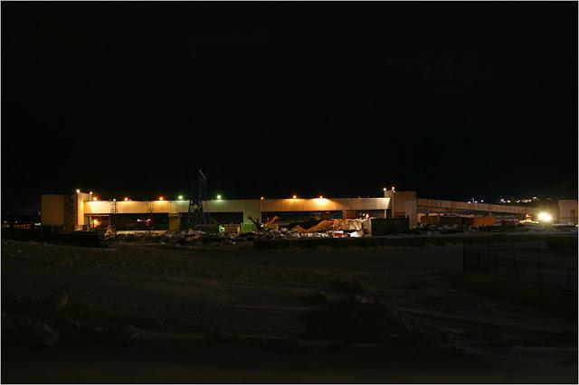 город Норильск, фото, район Талнах, рудник «Комсомольский»
