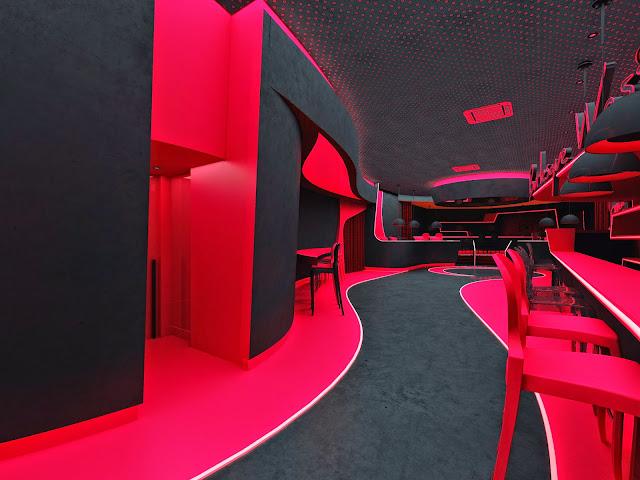 Proyecto Interiores para Discoteca cfzdesign
