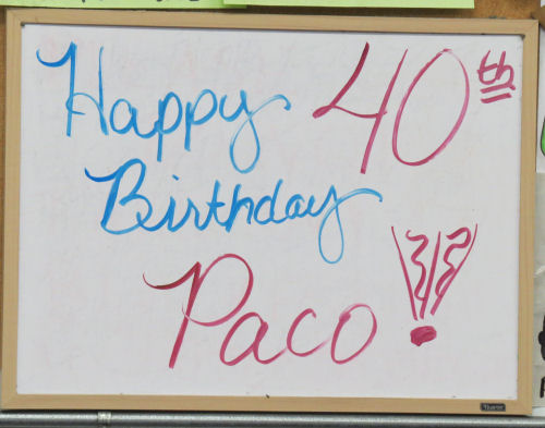 Paco's Birthday