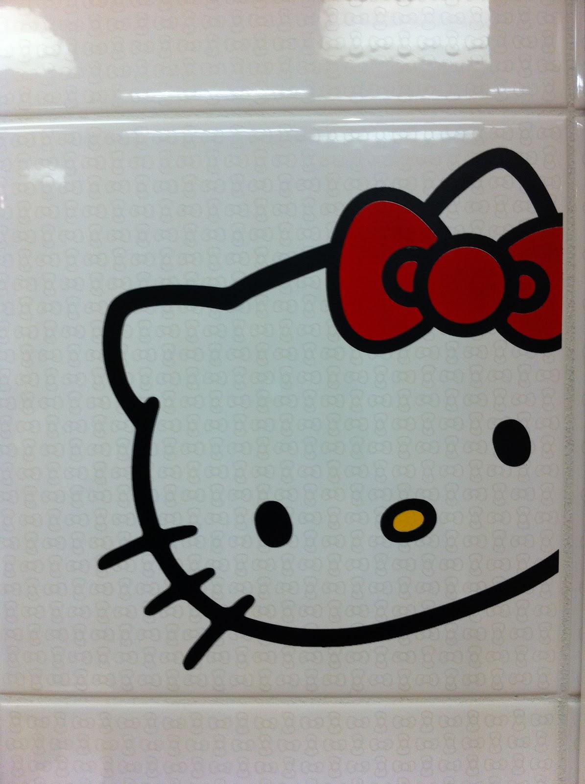 Popular Hello Kitty Bathroom Tiles  Decorating Clear