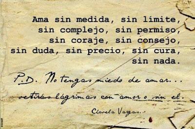 Frases De Amor: Ama Sin Medida Sin Límite Sin Complejo