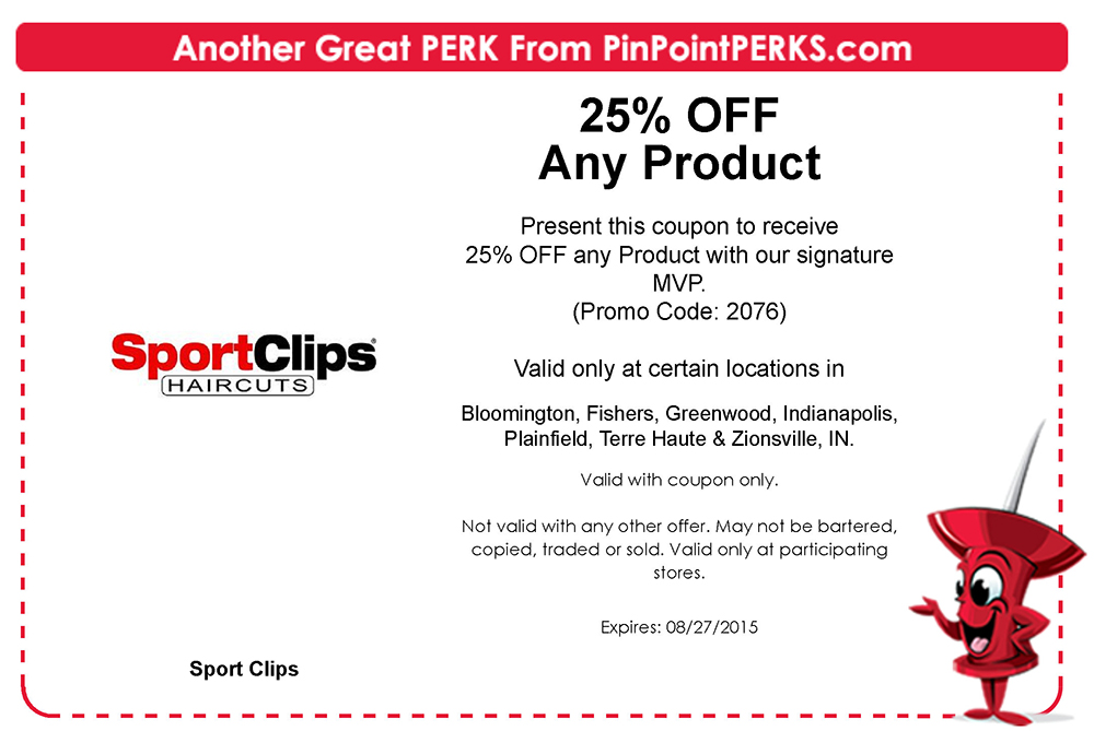 Get Sport Clips Coupons 2015 25 Off Mvp Free Printable