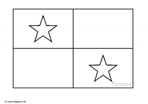 LAMINAS PARA COLOREAR - COLORING PAGES: Mapa y Bandera de Panamá ...