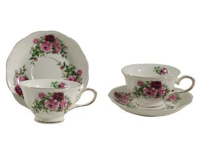 Gracie China teacups