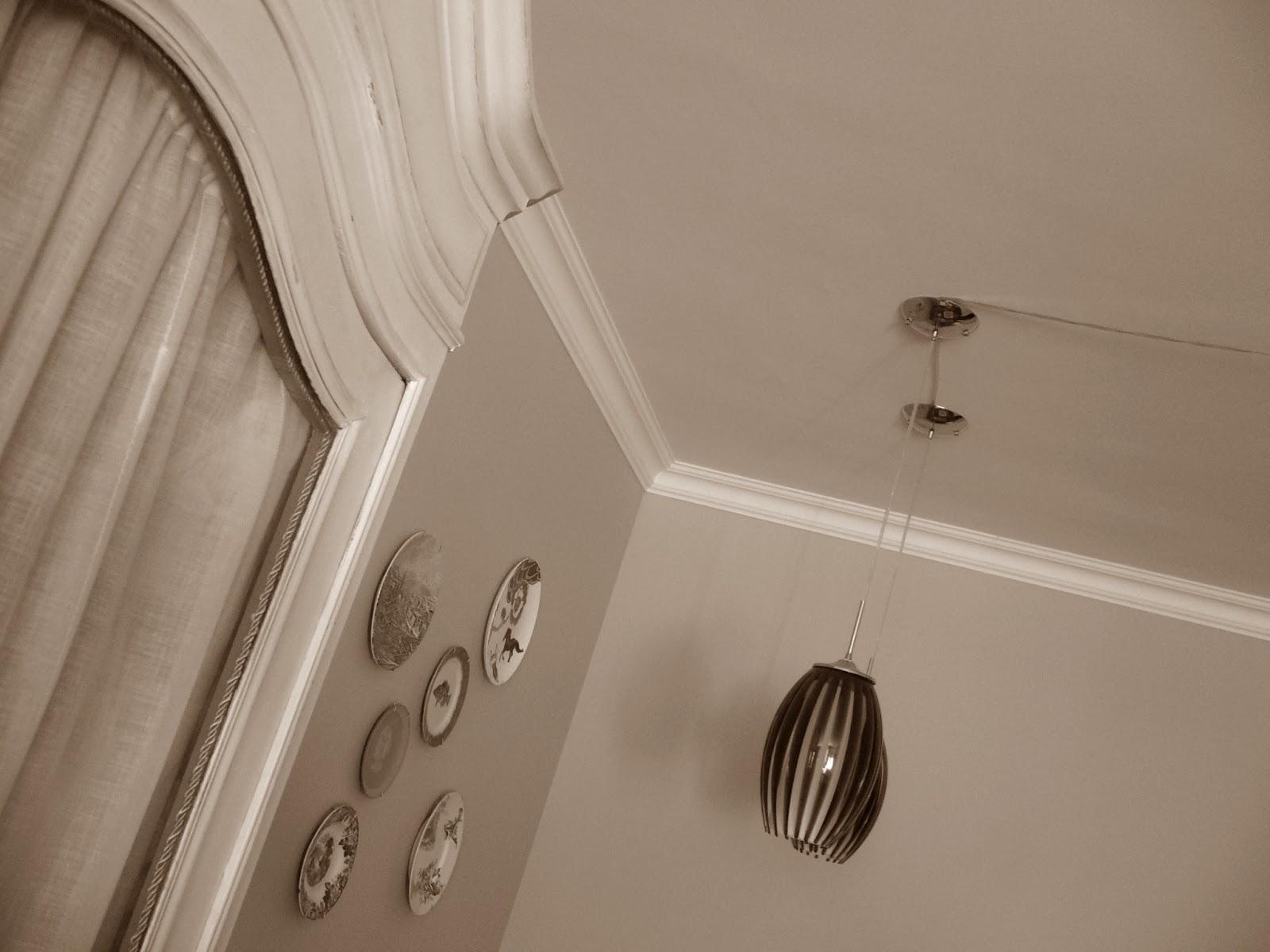 Diy moldura para el techo tu caj n vintage - Molduras techo poliuretano ...