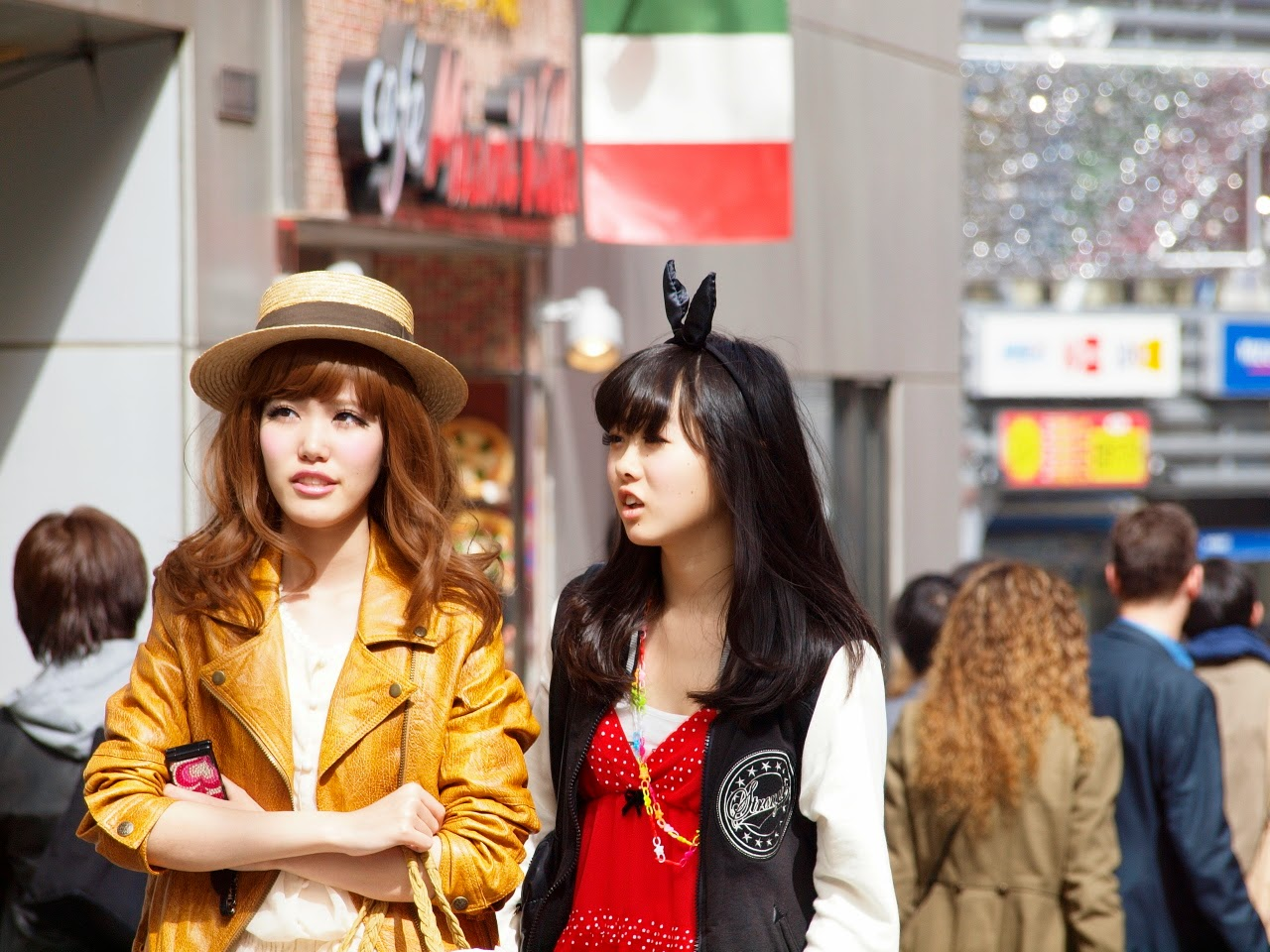 Gyaru en Shibuya