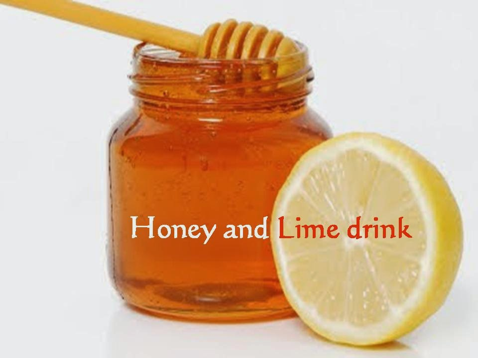 Honey and lime dink