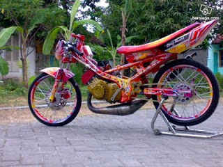 satria fu drag style