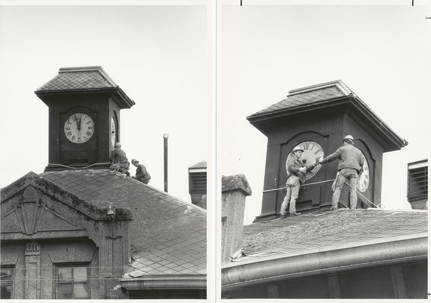 Removal of Clock 1988
