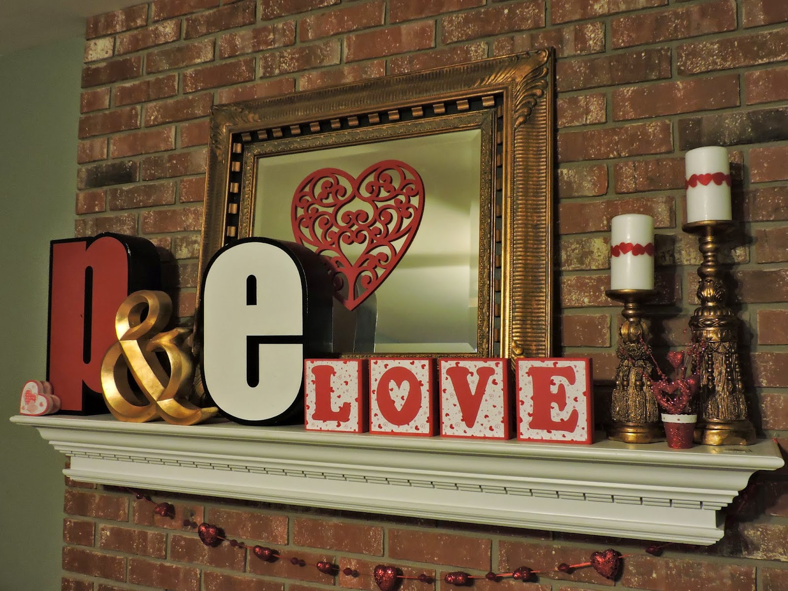 Valentine decorations