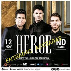 HÉROE / Tenores Lírico Pop Teatro Ateneo