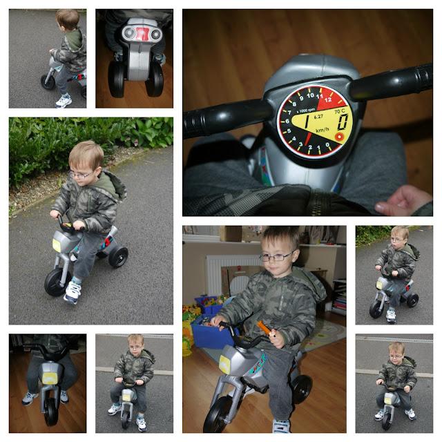 bikes, trikes, pre-schoolers