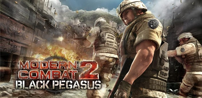 Modern Combat 2 Black Pegasus HD v3.3.7 Apk + Data Full [Reupado + Torrent]
