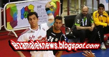 أحمد الأحمد نجم نادي الزمالك السابق لكرة اليد
