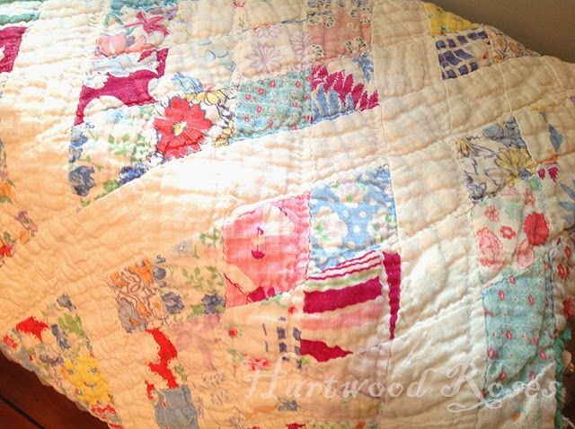 Hartwood Roses: Sunday Snapshot: Feedsack Quilt : feedsack quilts - Adamdwight.com