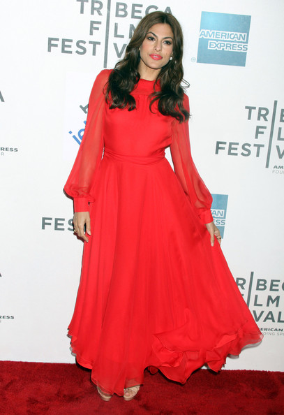 "Eva Mendes wore at the 2011 Tribeca Film Festival Premiere for ""Last Night"" in New York City, NY."