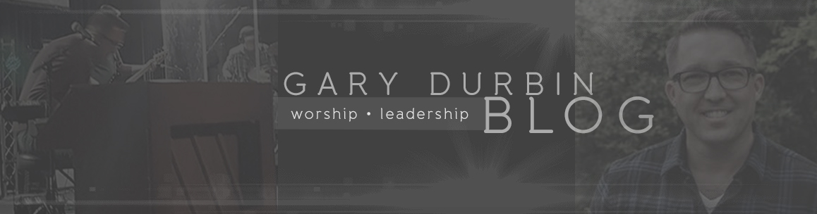 Gary Durbin Blog