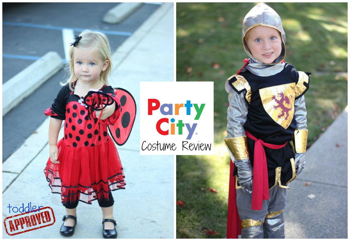 Toddler Approved!: Party City Costume Review and Toddler Costume Tips!