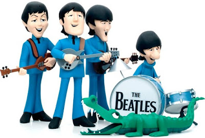 The Beatles en dibujo