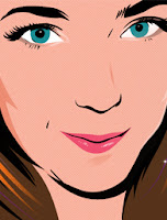 close up face