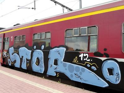STOR graffiti
