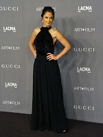 Minka Kelly  2012 LACMA Art+Film Gala red carpet