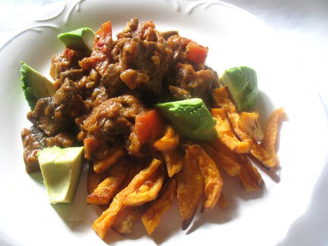 spicy mushroom chili