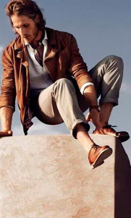 Massimo Dutti hombre zapatos primavera verano 2012