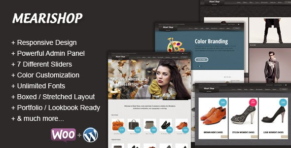 Mearishop a Clean Responsive E-commerce Theme Free