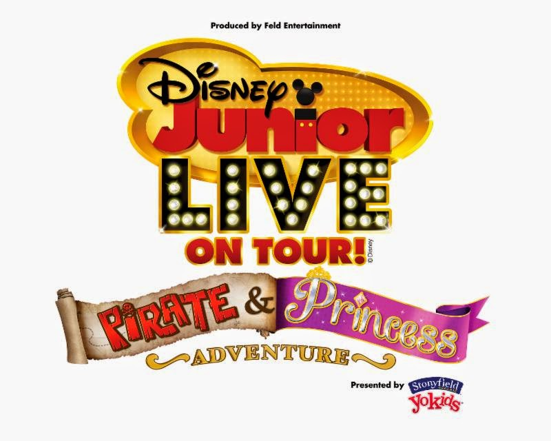 WIN 4 Tickets To Disney Junior Live On Tour! Pirate & Princess Adventure