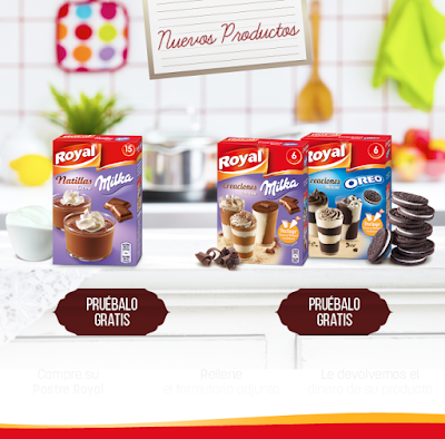 royal postres gratis