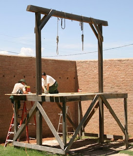 Erecting scaffolds in Pakistan