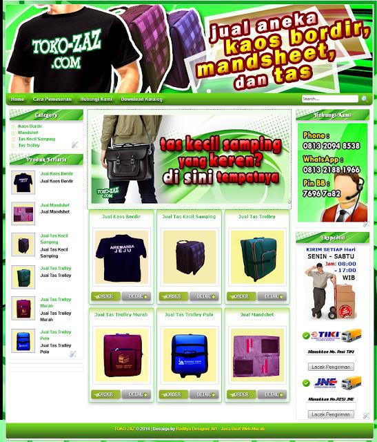 Jasa Pembuatan Website Toko Online Terpercaya