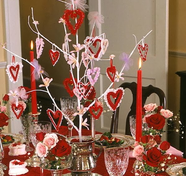 Valentines Day Table Decorations A1 Pictures