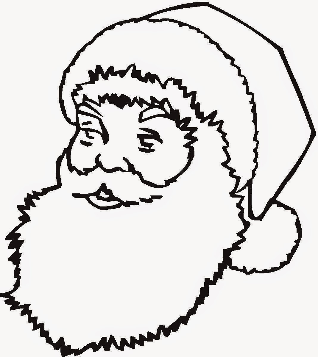 Coloring Pages Santa Claus Coloring