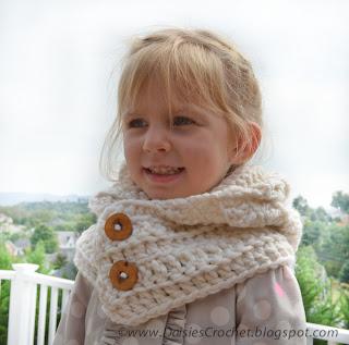 crochet hood pattern crochet cowl girl scarf 2