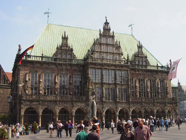 The Town Hall of Bremen - Germany