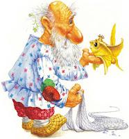 Неприятности старика начались с того момента, как он рассказал старухе, что поймал золотую рыбку...